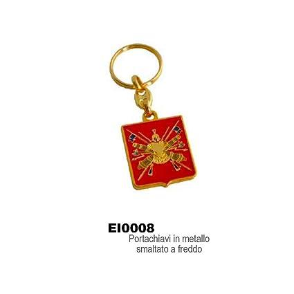 Giemme artículos de promoción-Llavero, color rojo con escudo ...