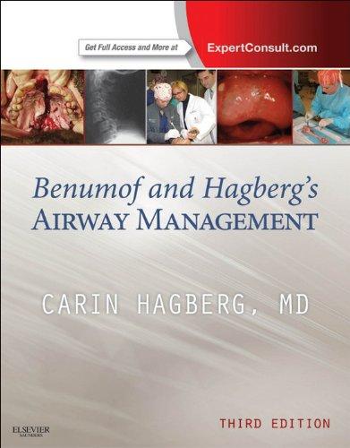 Benumof and Hagberg's Airway Management Pdf