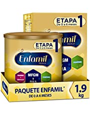 Enfamil Premium Promental Etapa 1 Fórmula para Lactantes de 0 a 6 meses Paquete Promo 1.9 kg