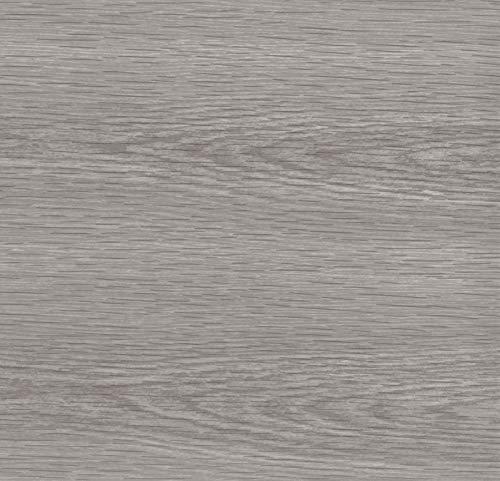 Venilia Lamina Adhesiva Madera de Pino Gris, lamina Decorativa, lamina para Muebles, lamina autoadhesiva, Aspecto Madera Natural, 45 cm x 3 m, Grosor: 0,095 mm, 53159