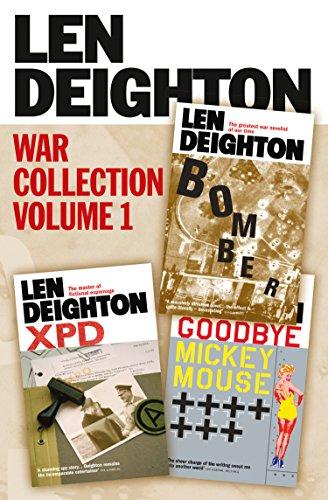 Len Deighton 3-Book War Collection Volume 1: Bomber, XPD, Goodbye Mickey ()