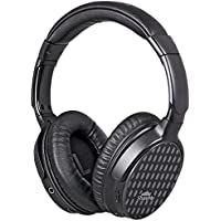 Mixcder ShareMe Pro Bluetooth 4.1 Over Ear headphones Stereo Deep Bass Wireless+Wired Headsets with Mic Hands-free Calling Overhead - Black