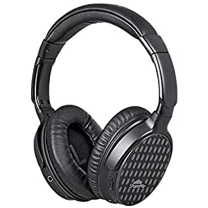 Mixcder Over Ear Wireless Headphones   Built In Mic, Stereo 40mm Drivers & ShareMe Pro Technology, Black