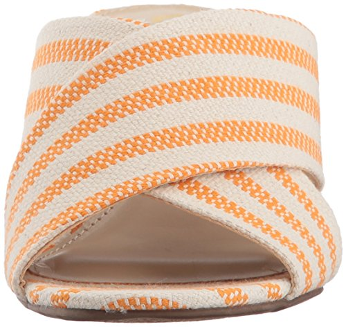 Edelman Orange Canvas Seafarer by Stevie Sam Women's Circus Ivory OZEq6