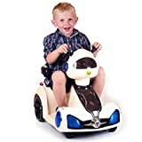 Push-to-Start Space Rover Battery Operated Remote Control Ride-On Car