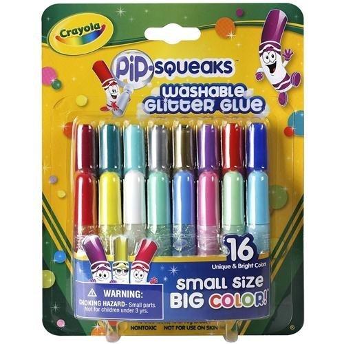 Crayola Pip-Squeaks Glitter Glue-16/Pkg