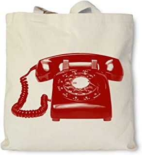 product image for Hank Player U.S.A. Retro Rotary Phone Tote Bag