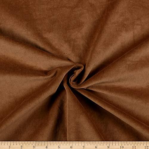 (Telio 21W Stretch Corduroy Fabric, Caramel, Fabric By The Yard)