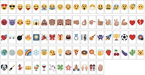Emoji Pack for A4 Light Box