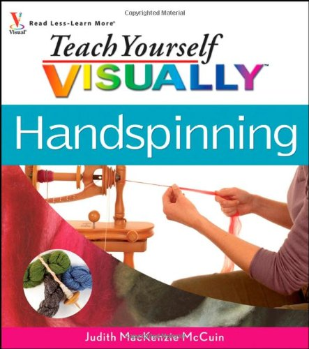 Teach Yourself Visually Handspinning (Teach Yourself Visually Consumer) (How To Dye Yarn compare prices)