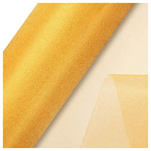 (Gold Thread - Yarn Roll Snow Sheer 48cm 9.1m Gold - Minerals Cord Cone Ribbon Silver Wishbone Women Crochet Tassels Hair Rope Yarn Plant Tull Cotton Earrings Through Earring Ball Cards)