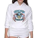 Womens Hoodies Shirt Bon Jovi Hoodie Sweatshirt Make Your Own