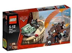 LEGO Cars 9483 - La huida del agente Mate