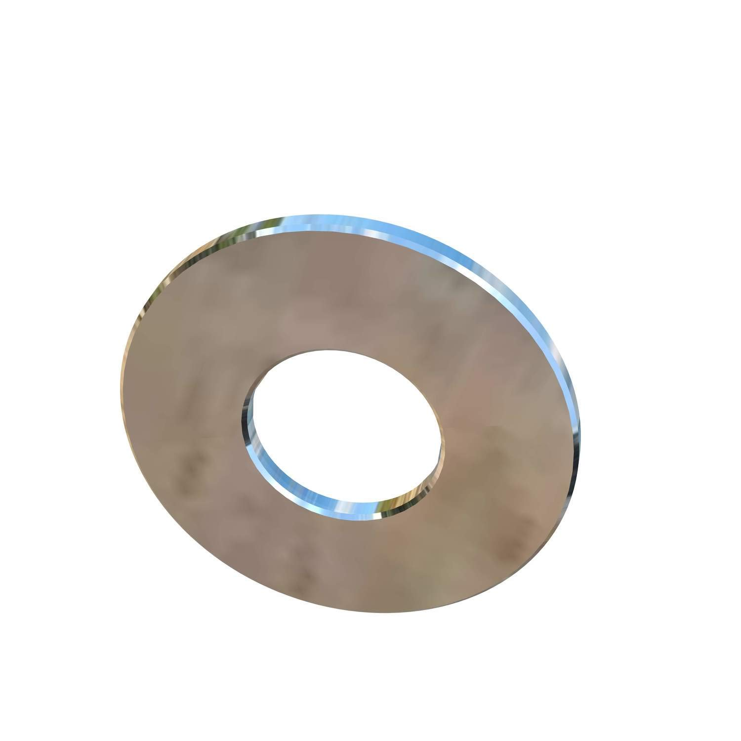 Allied Titanium 0001694, 1//2 Inch Flat Washer 0.078 Thick X 1-1//4 Inch Outside Diameter Grade 2 Pack of 12 CP