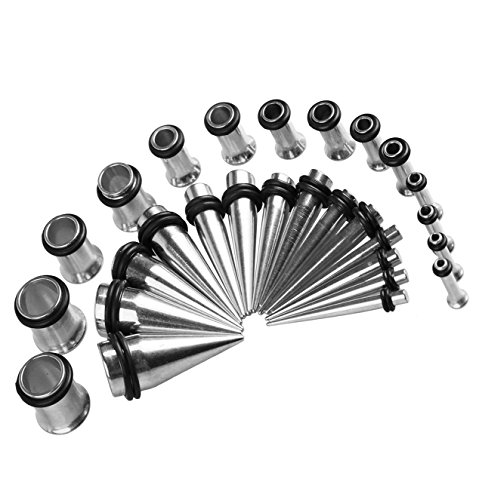 BodyJ4You Gauges Kit 28 Tapers