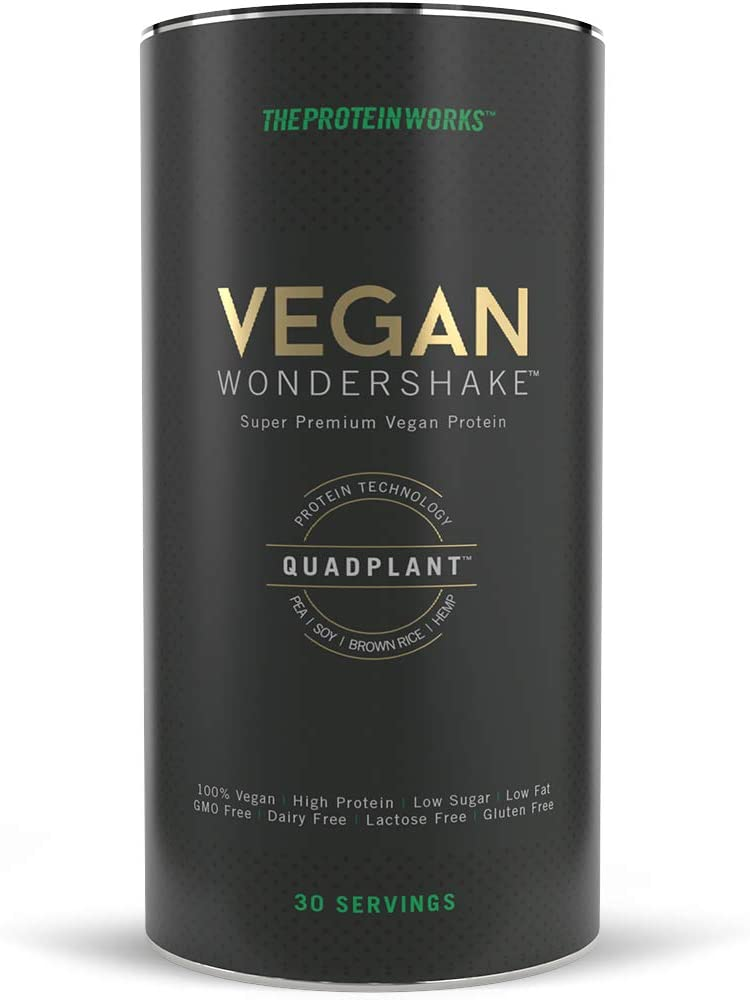The Protein Works Vegan Protein Wondershake 750g