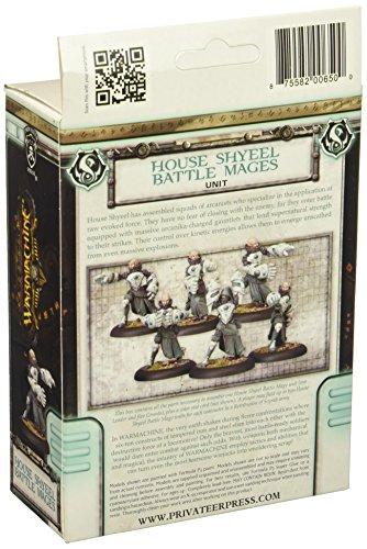 Privateer Press - Warmachine - Retribution: House Shyeel Battle Mages Model Kit 4