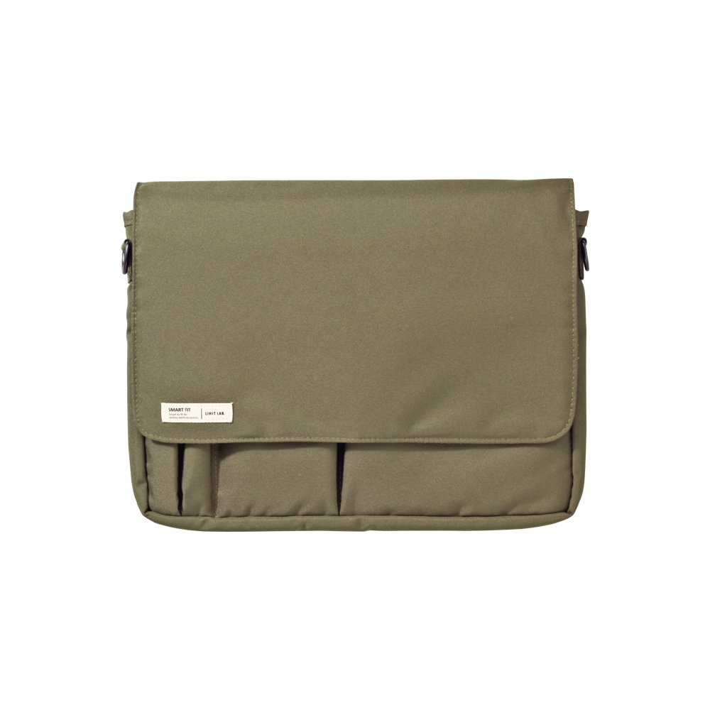 Lihit Lab Carrying Pouch, Olive, 8.3 x 11.4 Inches (A7576-22)