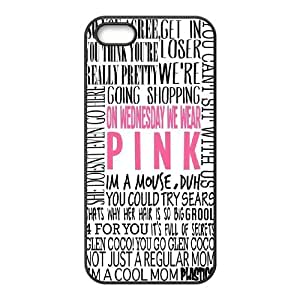 Steve-Brady Phone case Burn Book - Mean Girls For Apple Iphone 5 5S Cases Pattern-4