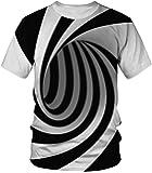 Amade ユニセックス tシャツ 半袖 スリム アニマル 3dプリント 面白いシャツ