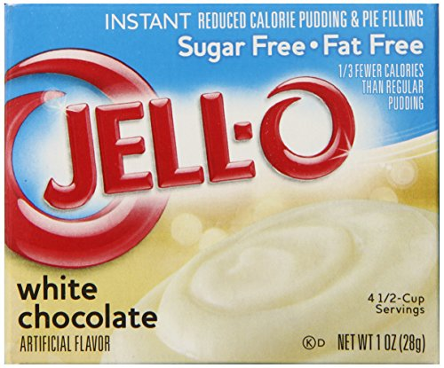 Jell O Sugar Free Instant Pudding Chocolate