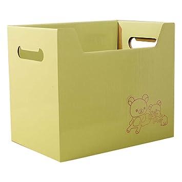 2 pcs oficina sólido verde estilo DIY de almacenamiento organizadores cajas: Amazon.es: Oficina y papelería