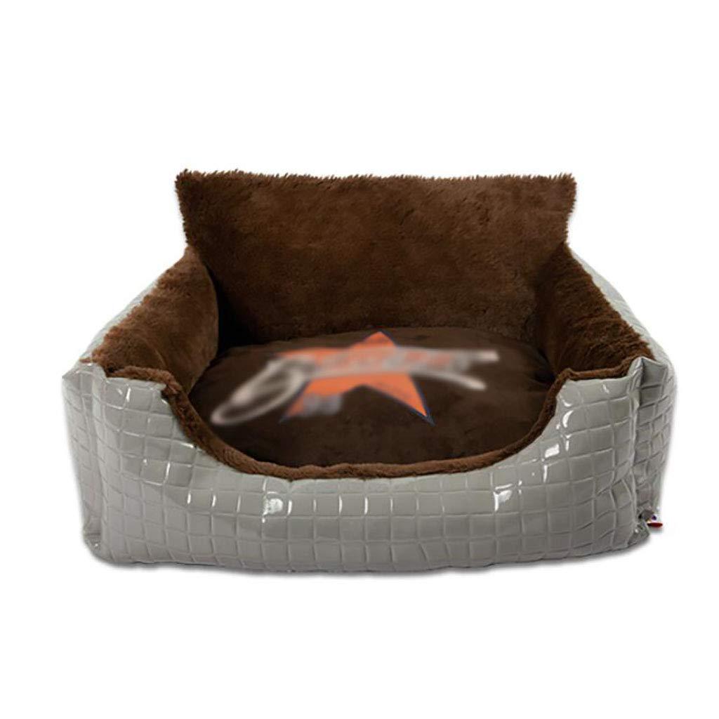 B 907632 B 907632 Pet house kennel Small dog Medium dog Large dog Washable Pet mat Pet nest pet bed Soft comfortable Four seasons available (color   B, Size   90  76  32)
