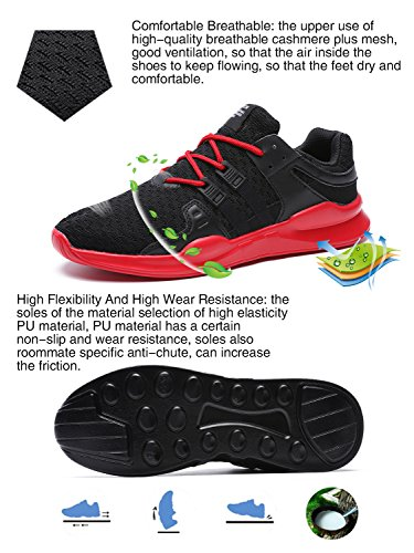Correr De Transpirable Rojo Asfalto Deportivas f 716 Deportes Running Iiiis Zapatos Malla Negro Libre Para Zapatillas Casuales Montaña Y Aire Hombre Senderismo Tn6x1wqgW
