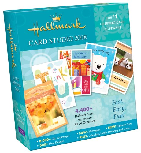 Amazon hallmark card studio 2008 old version hallmark card studio 2008 old version m4hsunfo