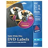 Avery DVD Labels Matte White for Ink Jet Printers (8962)