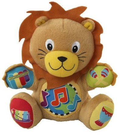 Game / Play Lion - Baby Einstein Press and Play Pal Toy, soft, babies, neptune, wooden, toddlers, gym Toy / Child / Kid