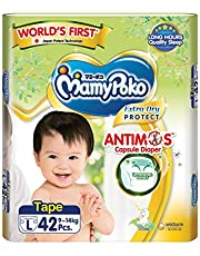 MamyPoko Extra Dry Anti-Mosquito Tape, L, 42 Count