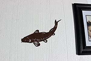 Koi Fish Metal Wall Art Home Kitchen Decor