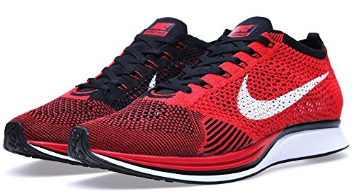 competitive price 4f6b2 44dd0 Nike Flyknit Racer Mens Running Shoes (USA 10) (UK 9) (EU 44) Amazon.co.uk  Shoes  Bags