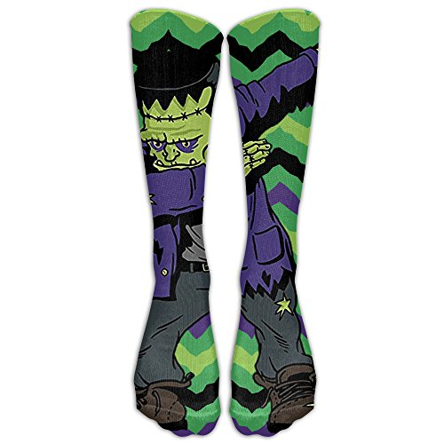 Dabbing Frankenstein Funny Halloween Monsters For Kids Compression Socks Tube Socks Athletic Socks Performance Socks Knee Socks Crew Socks High Socks Basketball Socks Volleyball (Halloween Boot Camp Workout)