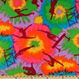 WinterFleece Multi Gymnastics Fabric By The Yard