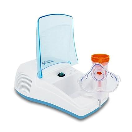 NINI Inhalación Nebulizador Ajustable Atomización Silencioso Compresor De Aire Portátil Profesional Casa Y La Atomización Ajustable