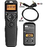 PIXEL TW283E3 Wireless Shutter Remote Release Control for Canon 700D/T5i 650D/T4i 550D/T2i 500D/T1i 350D/XT 400D/XTi 1000D/XS 450D/XSi 60D 100D and Pentax