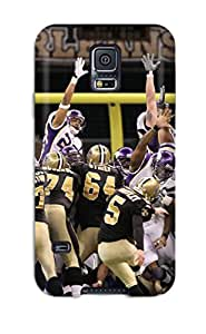 High Quality New Orleansaints Vikings Case For Galaxy S5 / Perfect Case