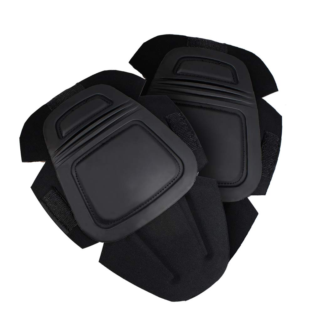 IDOGEAR Tactical Knee Pads G3 Pants Protective Pads for Military Airsoft Hunting Pants (Black) by IDOGEAR SPORTS