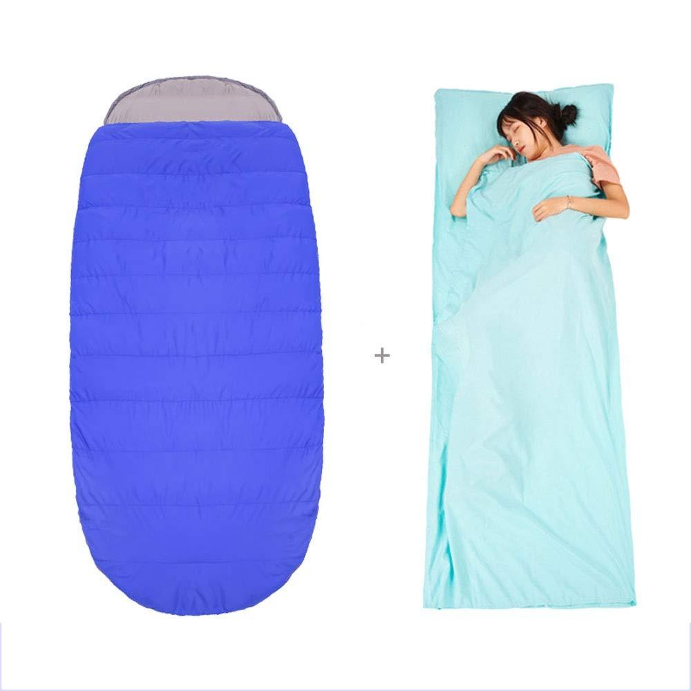 ZCF Leichte Mumienschlafsäcke; ideal zum Wandern, Wandern und Camping; kostenlose Kompressionsbeutel (Größe   B)