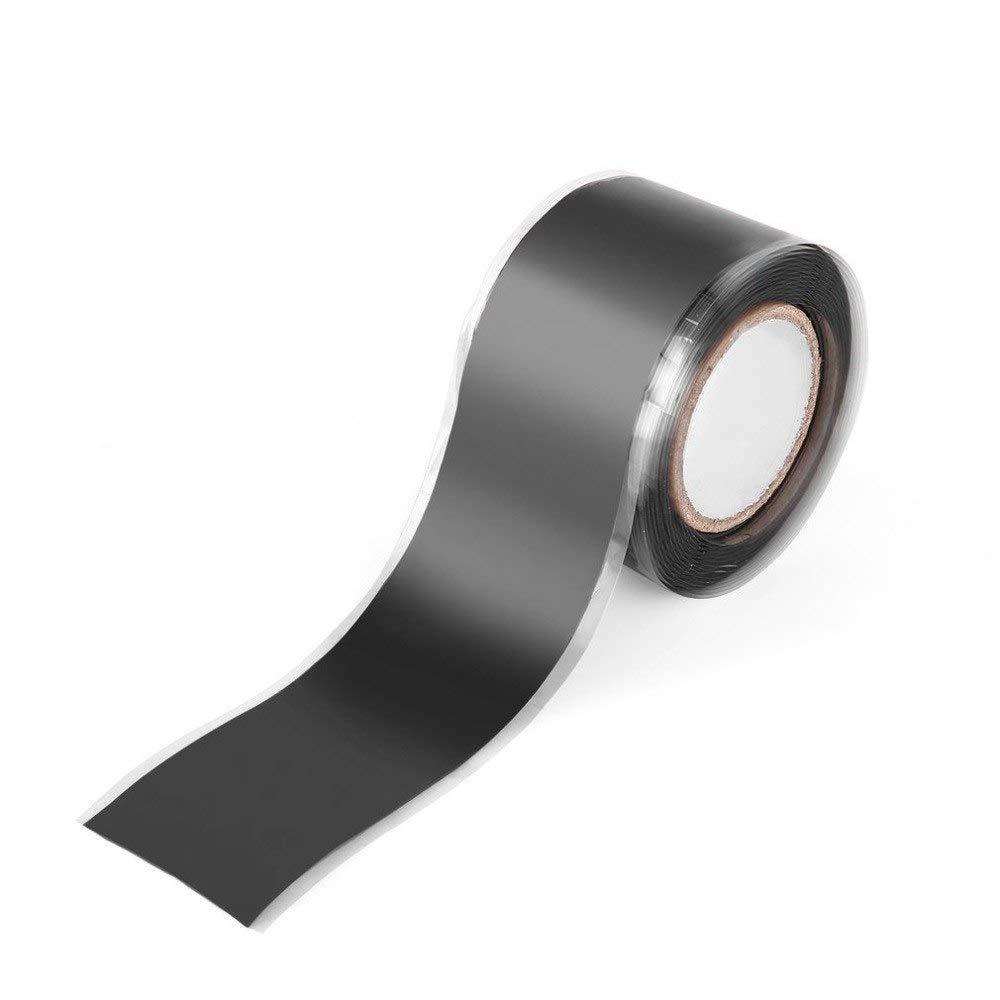 Isolierband Silikon Klebeband für Rohrleitungen Reparaturbänder für Wasserversorgung Sanitär Werkzeug Selbstklebend hydrophobisch Selbstflimmerband Rosilyuk