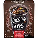 McCafe Premium Roast Cold Brew Coffee Packs (8 Count)