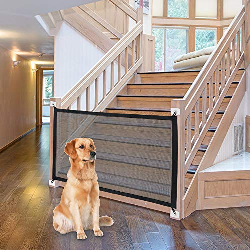 "NWK Magic Pet Gate for The House Providing a Safe Enclosure to Play and Rest, 41"" X 32"""