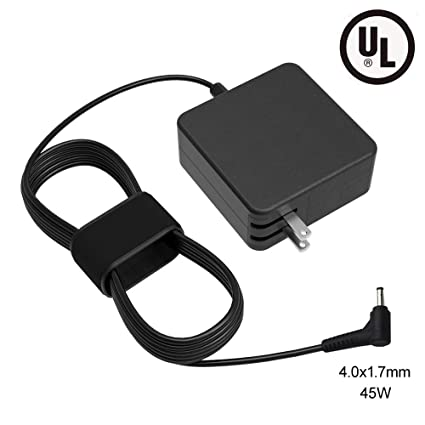 UL Listed 45W AC Charger Fit for Lenovo IdeaPad ADL45WCC PA-1450-5LL ADP-45DW B Model Laptop 7.5Ft Power Cord Supply Adapter