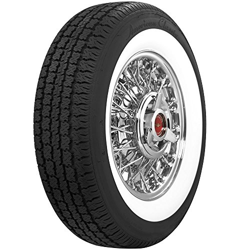 Coker Tire 530350 Whitewall Radial 205/75R15