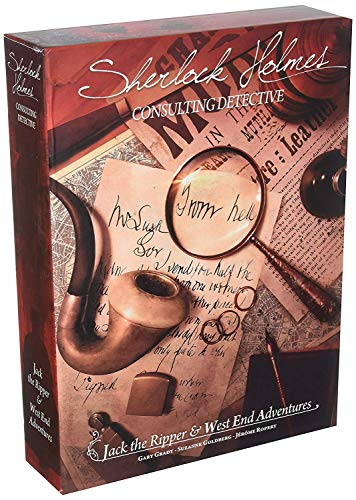 Sherlock Holmes Consulting: Detective Jack the Ripper & West End Adventures Strategy Board Game (Sherlock Holmes Consulting Detective Board Game Review)