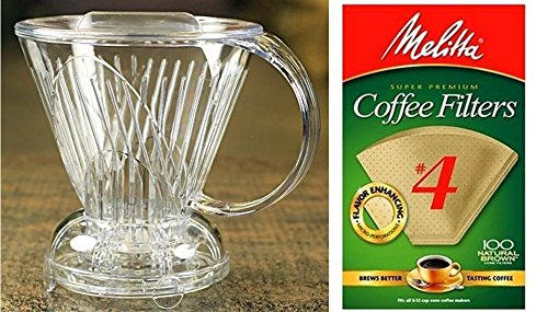 coffee-shrub-clever-coffee-dripper-large-18-ounces-with-melitta-cone-coffee-filters-natural-brown-4-