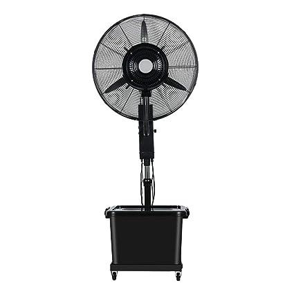 Ventilador oscilante de pedestal con humidificador Ventilador ...