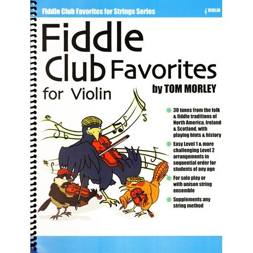 Fiddle Club Favorities - for Violin - by the Fiddle Center (Topten Song)